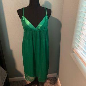 2/$13 Forever 21 Green Mini Dress